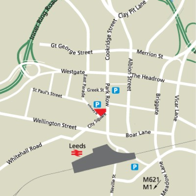 Location Map Serviced Offices Apartment 0 Sq.m. Leeds