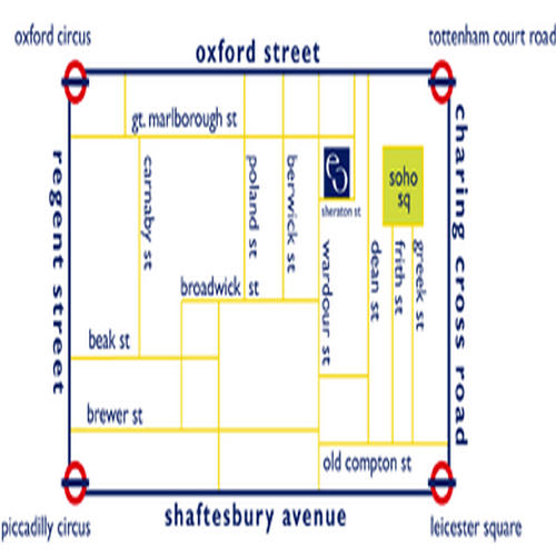Location Map Serviced Offices Apartment 0 Sq.m. Soho Square