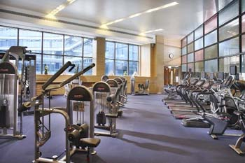 Gym 2-Bedroom Apartment 91 Sq.m. Oakwood Residence Hangzhou