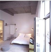 Miniloftmitte`s downtown urban studio apartments are an affordable and comfortable alternative to a hotel room. The south facing minilofts (42 sqm /400 sqft & 30 sqm /300 sqft) are located in a freshl