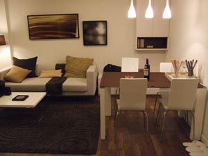 This  three furnished apartment is 58 sq.m and is located . The apartment has 2 bathroom. The minimum length of stay for this apartment is 12 Month(s).