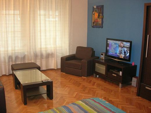 z This  one-bedroom furnished apartment is 56 sq.m and is located . The apartment has 1 bathroom. The minimum length of stay for this apartment is 1 Night(s).