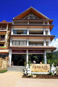Thai & Bali building style. 5th floor. I-Yarade Residence is service apartment which is different from a resort or hotel; this is truly a home away from home. We feature larger rooms with living room,