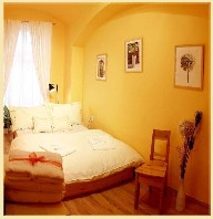 The history of the building goes back to 19th century. This  one-bedroom serviced apartment is 37 sq.m ,  and can sleep 2 people maximum.  The apartment has 1 bathroom. The minimum length of stay for