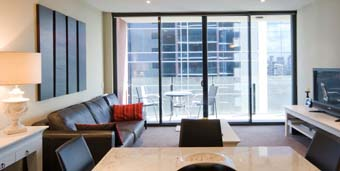 Living View 1-Bedroom Apartment 80 Sq.m. Accommodation Star Docklands Apartments