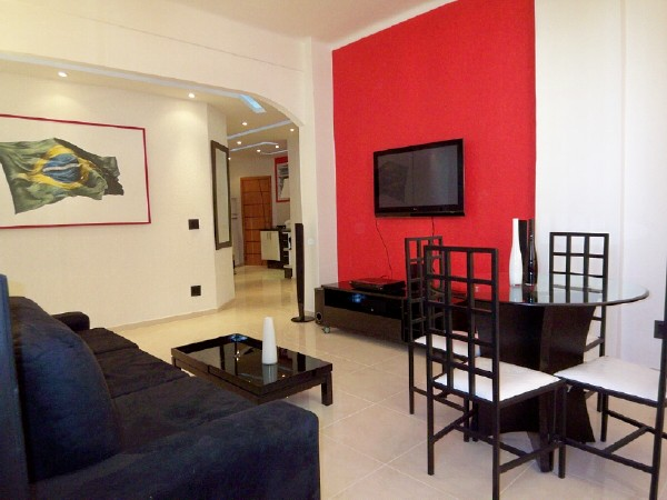 Brand new apartment is Copacabana with a luxury furnished amenities and friendly staff who will take care you 24 hours a day. The apartment also secure by doorman. This  three-bedroom serviced apartme