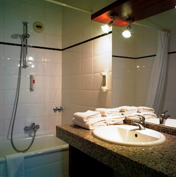 Bathroom 1-Bedroom Apartment 55 Sq.m. ARASS BUSINESS FLATS