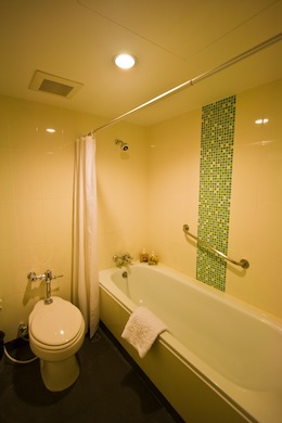 Bathroom 1-Bedroom Apartment 50 Sq.m. Astera Sathorn Bangkok