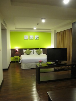 Room area 1-Bedroom Apartment 50 Sq.m. Astera Sathorn Bangkok