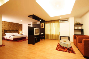 Bedroom Studio Apartment 35 Sq.m. Atrium Boutique Hotel