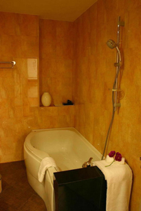 Bathroom Studio Apartment 35 Sq.m. Atrium Boutique Hotel