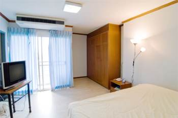 Bedroom Studio Apartment 32 Sq.m. BaanRim Sathorn