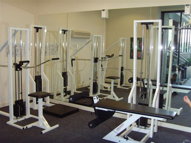 A well-equipped gym 1-Bedroom Apartment 74 Sq.m. Bayviews at Southbank