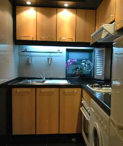 Kitchen 2-Bedroom Apartment 105 Sq.m. Beijing Serviced Stay - State Apartment