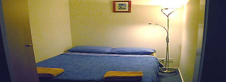 Bedroom 1-Bedroom Apartment 40 Sq.m. Central City Accommodation - Melbourne CBD