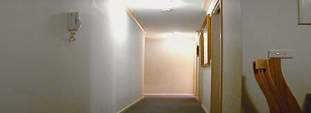 Hallway 1-Bedroom Apartment 40 Sq.m. Central City Accommodation - Melbourne CBD