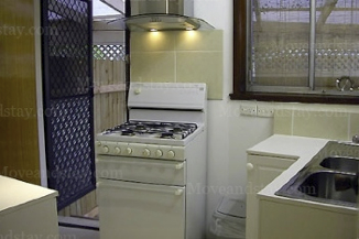 Kitchen 2-Bedroom Apartment 45 Sq.m. Central City Accommodation - Melbourne Western Suburbs (Albanvale)