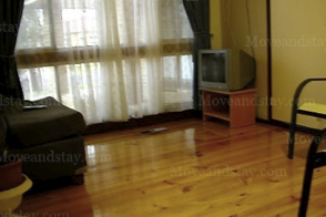Living Area 2-Bedroom Apartment 45 Sq.m. Central City Accommodation - Melbourne Western Suburbs (Albanvale)