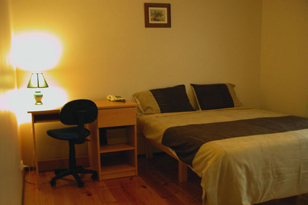 Bedroom 1-Bedroom Apartment 45 Sq.m. Central City Accommodation - Melbourne Western Suburbs (Albanvale)