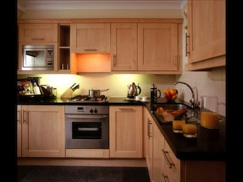 Fully Equipped Kitchen 1-Bedroom Apartment 40 Sq.m. Cheval Calico House