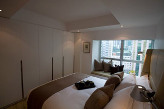 Bedroom 1-Bedroom Apartment 98 Sq.m. CHI Residences 120 (Pet Friendly)