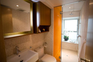 Bathroom 1-Bedroom Apartment 98 Sq.m. CHI Residences 120 (Pet Friendly)