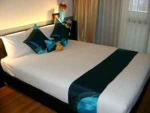 Bedroom Studio Apartment 30 Sq.m. Citadines Sukhumvit 11 Bangkok