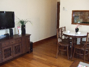 Dinning Area 1-Bedroom Apartment  Sq.ft. Citystate Serviced Apartment