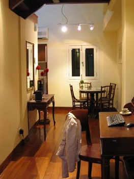 Hallway 1-Bedroom Apartment  Sq.ft. Citystate Serviced Apartment