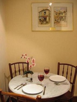 Dining Area 1-Bedroom Apartment  Sq.ft. Citystate Serviced Apartment
