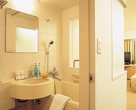 Bathroom Studio Apartment 39 Sq.m. Court Annex Roppongi