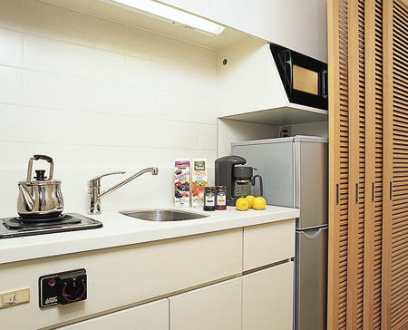 Kitchen Area Studio Apartment 39 Sq.m. Court Annex Roppongi