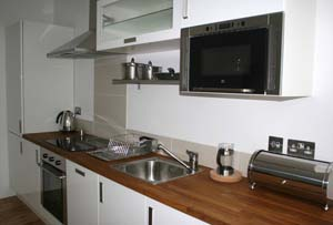 Kitchen area 1-Bedroom Apartment 0 Sq.m. Credible Apartments