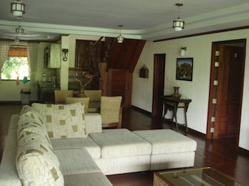 Living Area 5-Bedroom Apartment 145 Sq.m. Doi Luang Private Reserve