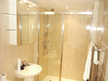 Azure Shower Room 1-Bedroom Apartment 40 Sq.m. Earle House