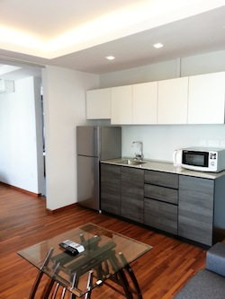 Modern 1 bedroom serviced units of various sizes available for immediate stay. This  one-bedroom furnished apartment is 300 sq.m and is located . The apartment has 1 bathroom. The minimum length of st