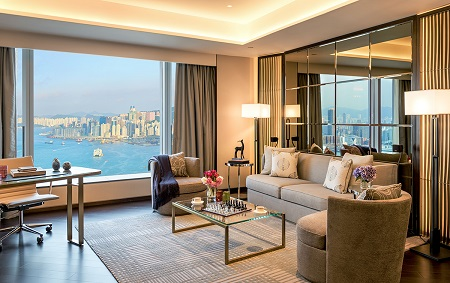 The Four Seasons Place is created by the finest top class developers and is placed at the back of International Finance Centre (ifc). It is fantastically managed by the Four Seasons Hotels and Resorts
