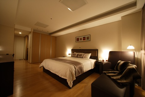 Bedroom 1-Bedroom Apartment 68 Sq.m. Fraser Place Central Seoul