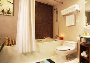 Bathroom 3-Bedroom Apartment 187 Sq.m. Fraser Residence CBD East Beijing