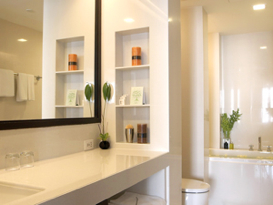 Bathroom 3-Bedroom Apartment 140 Sq.m. Fraser Suites Sukhumvit
