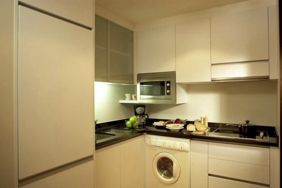 Fully Equipped Kitchen  3-Bedroom Apartment 140 Sq.m. Fraser Suites Sukhumvit