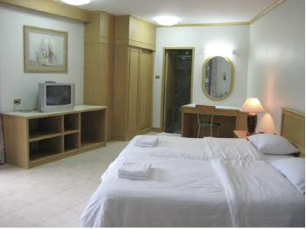 Bedroom   Studio Apartment 27 Sq.m. Garden Paradise Pattaya