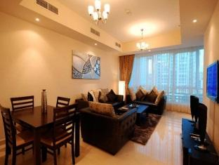 Living Room 2-Bedroom Apartment 0 Sq.m. GHM Short Stay Dubai