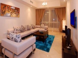 Living Room 3-Bedroom Apartment 0 Sq.m. GHM Short Stay Dubai