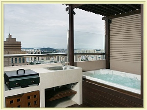Pool Spa 4-Bedroom Apartment 204 Sq.m. Great World Serviced Apartments