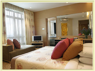 Bedroom 4-Bedroom Apartment 204 Sq.m. Great World Serviced Apartments