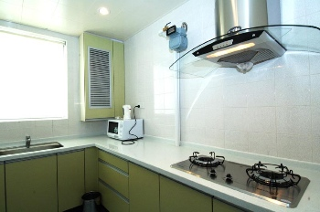 Fully Equipped Kitchen 3-Bedroom Apartment 140 Sq.m. Hankar Serviced Apartment