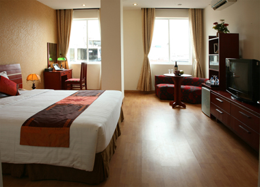 Deluxe room Studio Apartment 32 Sq.m. Le Hotel Hanoi