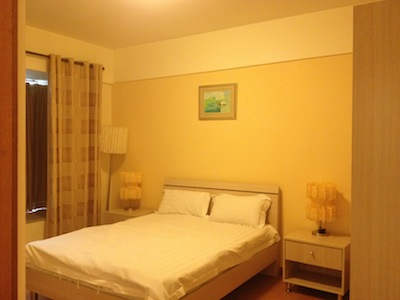 Bedroom 1-Bedroom Apartment 76 Sq.m. King Tai Serviced Apartment