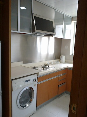 Kitchen 1-Bedroom Apartment 76 Sq.m. King Tai Serviced Apartment